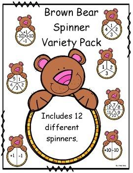 Brown Bear Spinner Variety Pack
