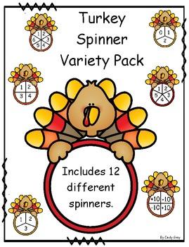 Turkey Spinner Variety Pack