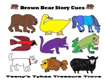 Brown Bear Story Cues