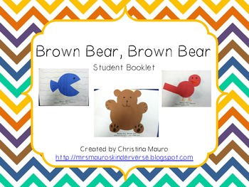 Brown Bear - Student Booklet