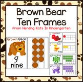 Brown Bear Ten Frames