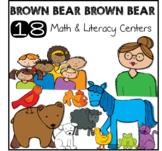 Brown Bear Unit - 18 Color, Math, Literacy Centers