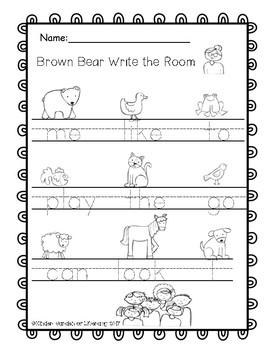 Write the Room Brown Bear