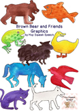 Brown Bear and Friends Graphics