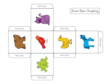 """Brown Bear and friends"" Math and Literacy Pack"