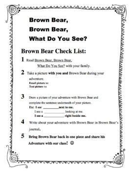 Brown Bear's Adventure