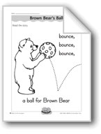 Brown Bear's Ball (letter/sound association for 'b')