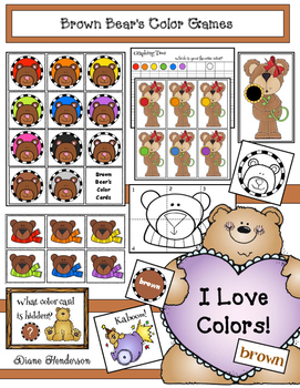 Brown Bear's Color Games