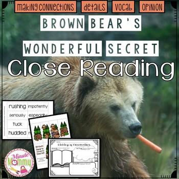 Brown Bear's Wonderful Secret Close Read