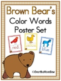 Brown Bear's Color Words Poster Set