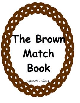 Brown Book Matching Activity