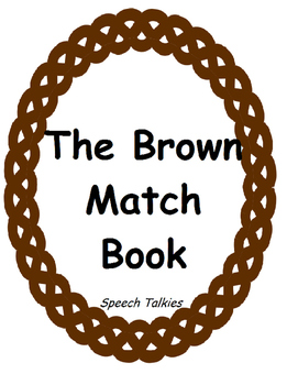 Brown Book Matching Activity