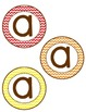 Brown Chevron Bulletin Board Letters