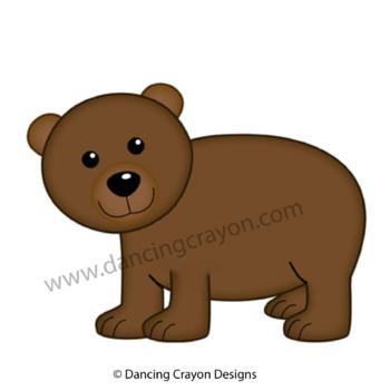 Brown Clip Art - Color Clipart Series Set 8