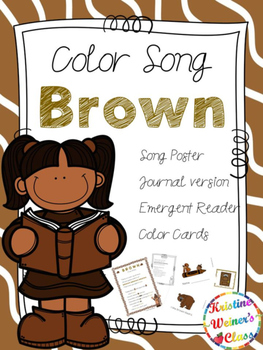 Brown Color Song {A Mini-Unt}