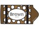 Brown Color Song Crayon Book