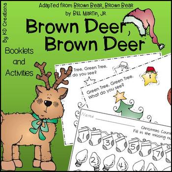 Brown Deer, Brown Deer for Kindergarten * Booklets * Counting * Alphabet Order