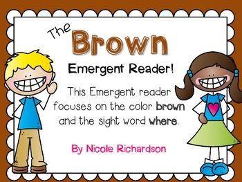 Brown Emergent Reader