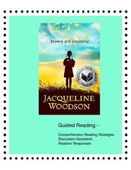 Brown Girl Dreaming - Guided Reading, Critical Thinking