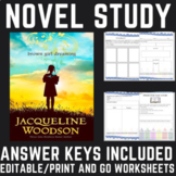 Brown Girl Dreaming Novel Study by Jacqueline Woodson