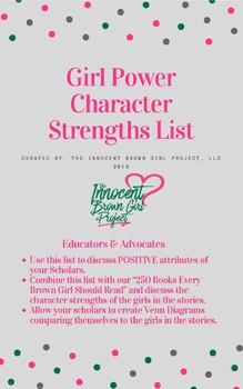 Brown Girl Magic Character Traits List