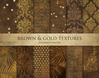 Brown & Gold Textures