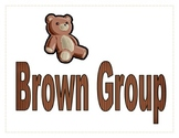 Brown Group Sign