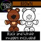 Brown Objects Clipart {Creative Clips Clipart}