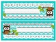 Brown Owl Chevron Nameplates (Blue, Green, Aqua, Brown)