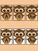 Brown Owl  Full Page Alphabet Letter Posters