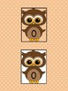 Brown Owl Full Page Number Posters 0-100
