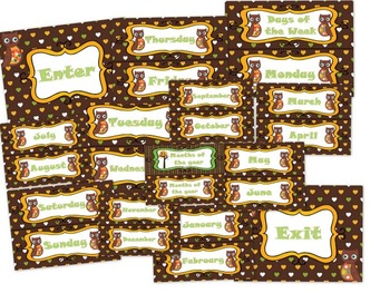 Brown Owl Labels