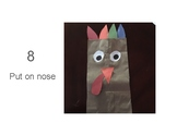 Brown Paper Bag Turkey Picture Instructions