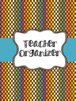 Brown Polka Dots Classroom Organization Pack