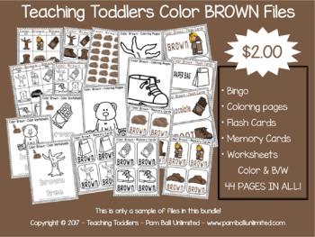 Brown - Toddler Files