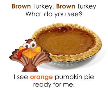 Brown Turkey Brown Turkey - Colors SMARTBoard Book