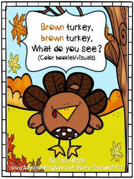 Brown Turkey, Brown Turkey What Do YOU See? (color recognition)