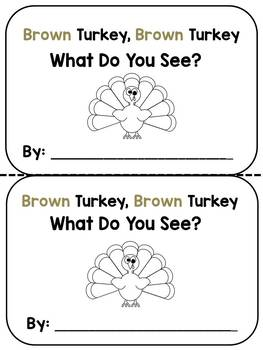 Brown Turkey, Brown Turkey:  an emergent reader