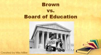 Brown Vs. Board of Education PowerPoint