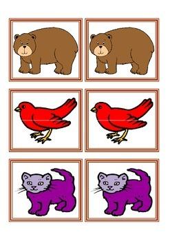 Brown bear Brown bear Memory Game