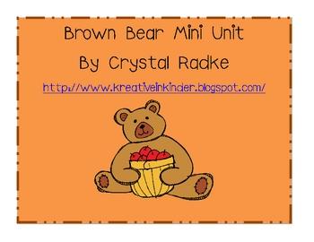 Brown bear, Brown bear Unit