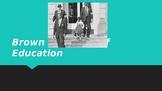 Brown v. Board of Education Slideshow