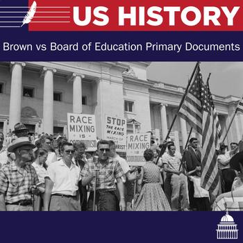 Brown vs Board of Education Primary Documents and Questions