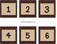 Brown with Cream Polka Dots (Editable)