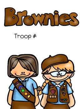 Brownie Girl Scout Binder Covers