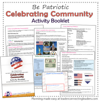 Brownie Girl Scout Celebrating Community Complete Booklet