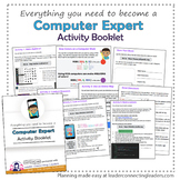 Brownie Girl Scout Computer Expert Activity Booklet