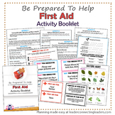Brownie Girl Scout First Aid Activity Booklet