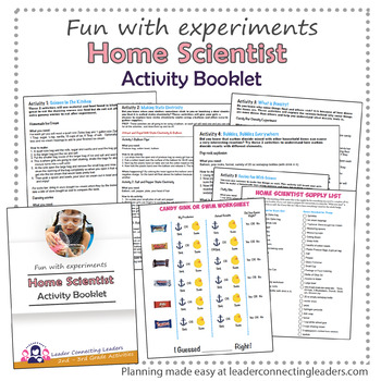 Brownie Girl Scout Home Scientist Activity Booklet