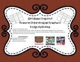 Brownie Girl Scout Inspired Philanthropist Badge Brochure